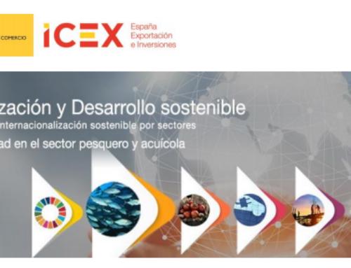 """No te pierdas la jornada """"Sostenibilidad en el sector pesquero y acuícola"""", que organizamos con ICEX España Exportación e Inversiones"""